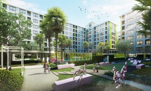 กรีเน่ คอนโด ดอนเมือง-สรงประภา เฟส 2 (Grene Condo Don Mueang - Song Prapha Phase 2)
