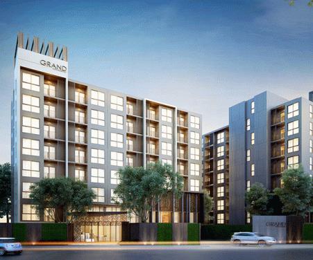 แกรนด์คอนโดมิเนียม วุฒากาศ 53 (Grand Condominium Wutthakat 53)