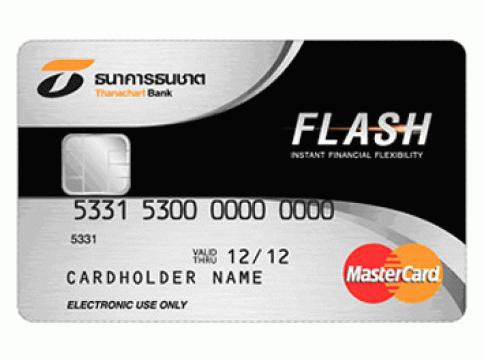 บัตรกดเงินสดธนชาต FLASH Plus-ธนาคารธนชาต (Thanachart)
