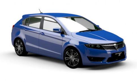 โปรตอน Proton-Suprima S Premium Line-ปี 2013
