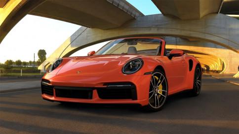 ปอร์เช่ Porsche 911 Turbo S Cabriolet ปี 2019