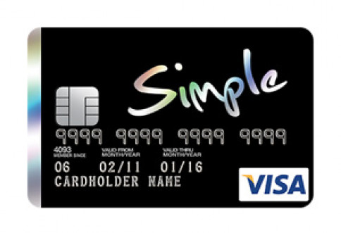บัตรซิมเพิล วีซ่า คาร์ด (Simple Visa Card)-เซ็นทรัล เดอะวัน  (Central The 1)