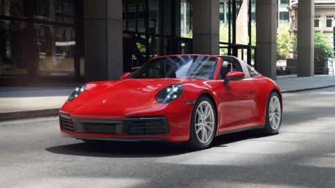 ปอร์เช่ Porsche-911 Targa 4-ปี 2019