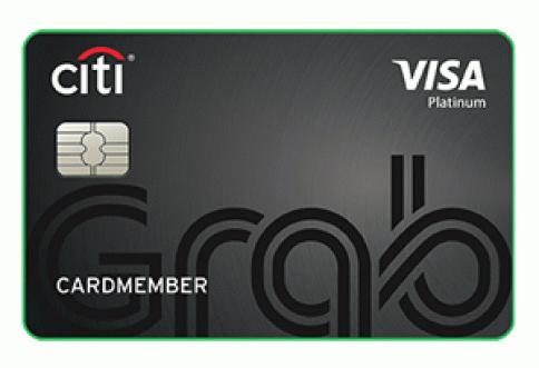 บัตรเครดิตซิตี้ แกร็บ (Citi Grab)-ธนาคารซิตี้แบงก์ (Citibank)