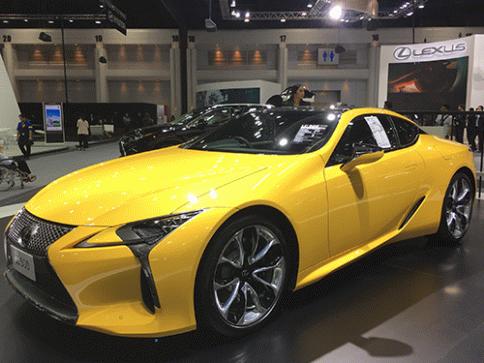 เลกซัส Lexus LC 500 ปี 2017