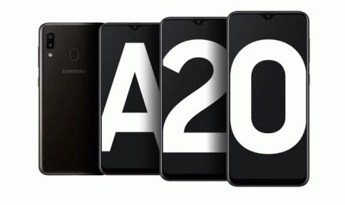รูป ซัมซุง SAMSUNG Galaxy A20