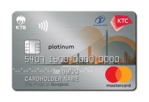 บัตรเครดิต KTC - Tang Hua Seng Platinum MasterCard-บัตรกรุงไทย (KTC)