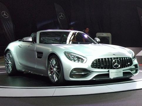 เมอร์เซเดส-เบนซ์ Mercedes-benz AMG GT C ปี 2017