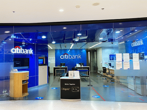 บัญชีกระแสรายวันทั่วไป-ธนาคารซิตี้แบงก์ (Citibank)