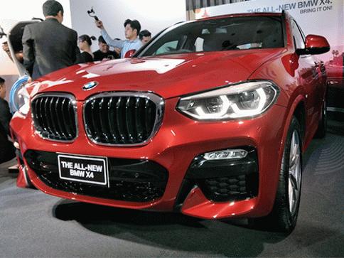 บีเอ็มดับเบิลยู BMW-X4 xDrive20d M Sport-ปี 2018