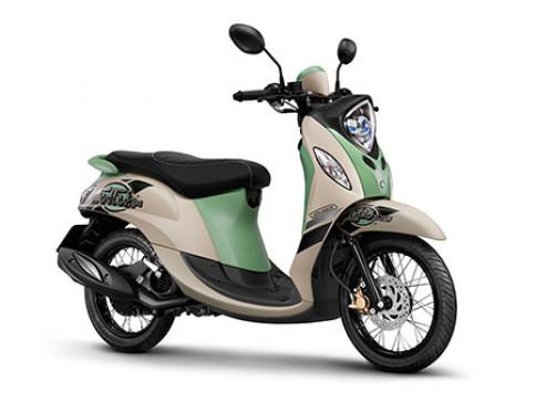 ยามาฮ่า Yamaha Fino 125 Retro ปี 2015