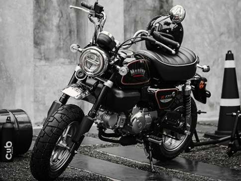 ฮอนด้า Honda Monkey - The Immortal Black Edition ปี 2020