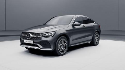 เมอร์เซเดส-เบนซ์ Mercedes-benz GLC-Class 300 e 4MATIC Coupe AMG Dynamic ปี 2019