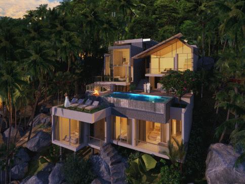 ดิ เอ็มเมอรัล โอเชียน ฟร้อน เรสซิเด้นซ์ (The Emerald Oceanfront Residence)