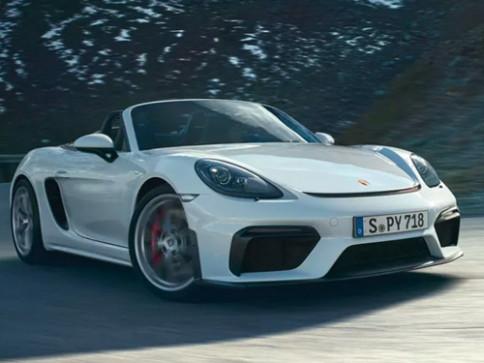 ปอร์เช่ Porsche 718 Spyder ปี 2020