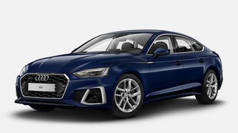 อาวดี้ Audi-A5 Sportback 45 TFSI quattro S line Black Edition-ปี 2020