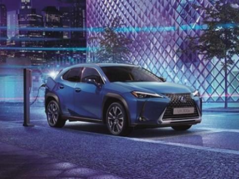 เลกซัส Lexus-UX 300e-ปี 2020