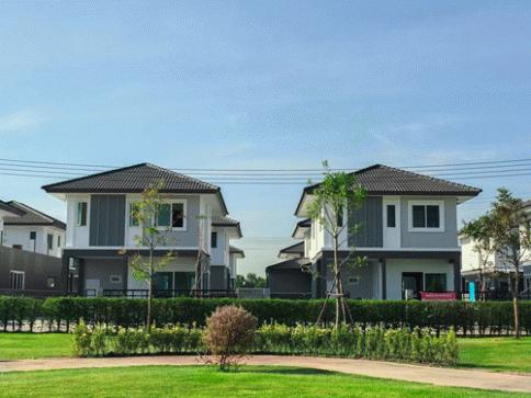 บ้านฉัตรหลวง โครงการ 15 ซอยวัดบางเตยใน - สามโคก (Chatluang 15 Watbangtoeinai - Samcoke)