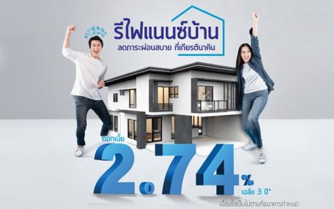 สินเชื่อบ้านรีไฟแนนซ์ KK Home Loan Refinance-ธนาคารเกียรตินาคิน (KK)