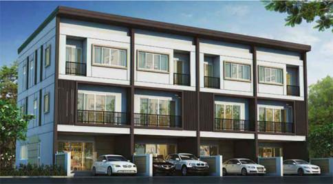 บ้านลุมพินี ทาวน์เพลส สุขุมวิท 62 (ฺBaanLumpini Town Place Sukhumvit 62)