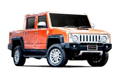 ไทยรุ่ง Thairung Transformer Plus4 3.0 4WD AT ปี 2013