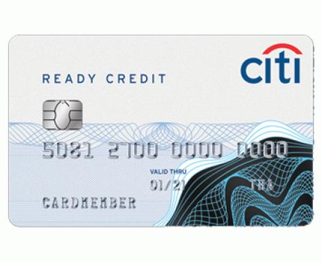 บัตรกดเงินสดซิตี้ เรดดี้เครดิต (Citibank Ready Credit)-ธนาคารซิตี้แบงก์ (Citibank)
