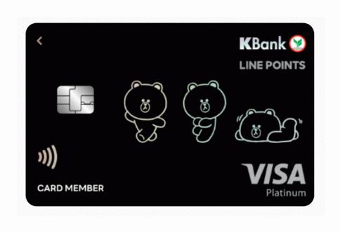 บัตรเครดิต LINE POINTS-ธนาคารกสิกรไทย (KBANK)