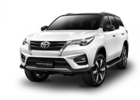 โตโยต้า Toyota Fortuner 2.8 TRD Sportivo 4WD Black top AT MY 2018 ปี 2018