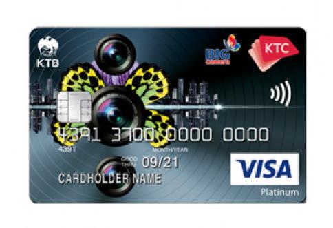 บัตรเครดิต KTC - Big Camera Visa Platinum-บัตรกรุงไทย (KTC)