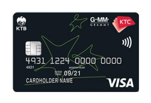 บัตรเครดิต KTC - GMM GRAMMY VISA-บัตรกรุงไทย (KTC)