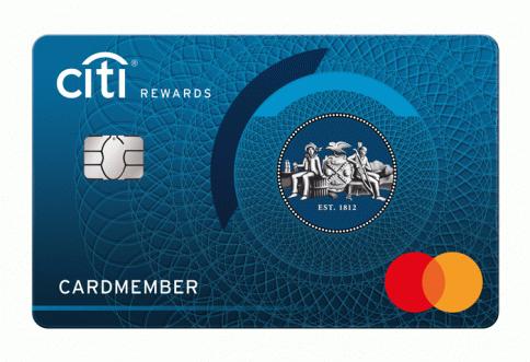 บัตรเครดิตซิตี้ รีวอร์ด-ธนาคารซิตี้แบงก์ (Citibank)