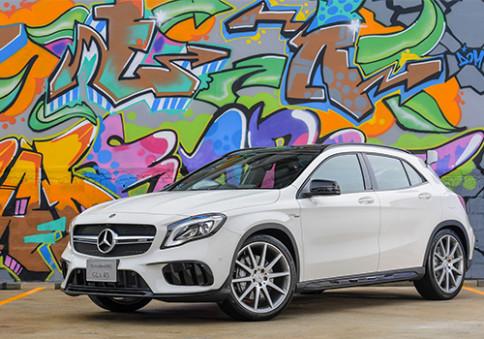 เมอร์เซเดส-เบนซ์ Mercedes-benz-AMG GLA 45 4MATIC-ปี 2017