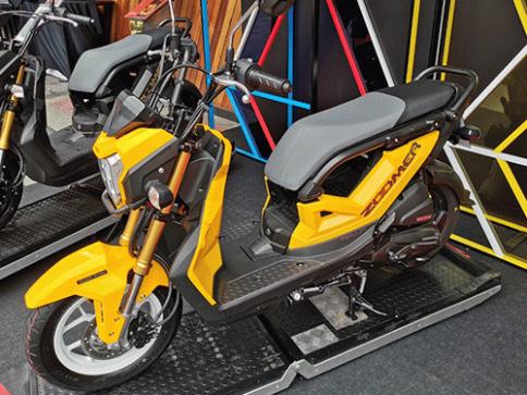 ฮอนด้า Honda Zoomer X ACG110CBTL MY19 ปี 2019