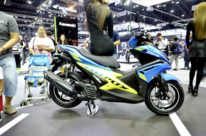 Yamaha aerox 155 abs version my18 2017 for Yamaha motorcycle serial number wizard