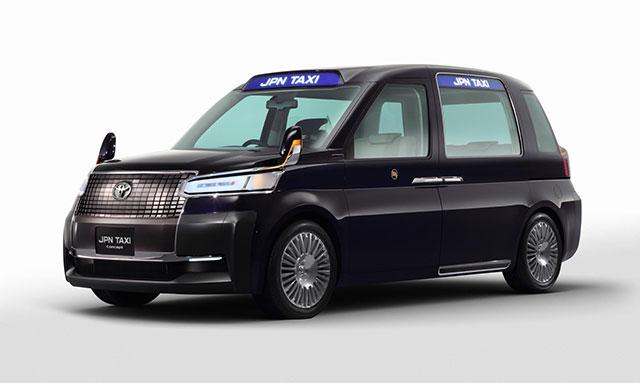 Toyota Jpn Taxi แท็กซี่ Universal Design เกิดมาเพื่อ