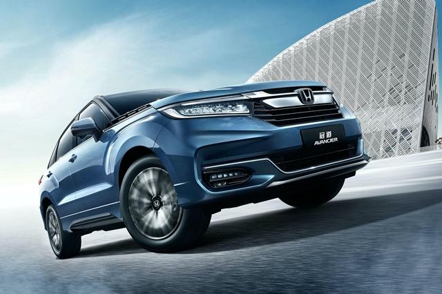 2020 Honda Avancier รถยนต์ SUV ปรับโฉมใหม่ขายในจีน กับ ...