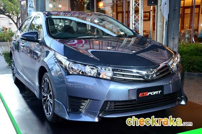 Toyota Corolla Altis 1 8 Esport โคโรลล่า อัลติส เอสสปอร์ต