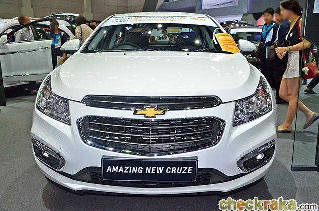 Pajero Sport Minor Change 2018 >> Chevrolet Cruze ตอบสนองผู้ขับขี่ที่มองหาความสปอร์ตและหรูหรา | เช็คราคา.คอม