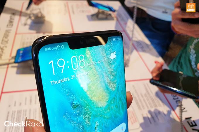 พรีวิว Huawei Mate 20 Pro ที่สุดของเทคโนโลยีและกล้องบนสมาร์ท