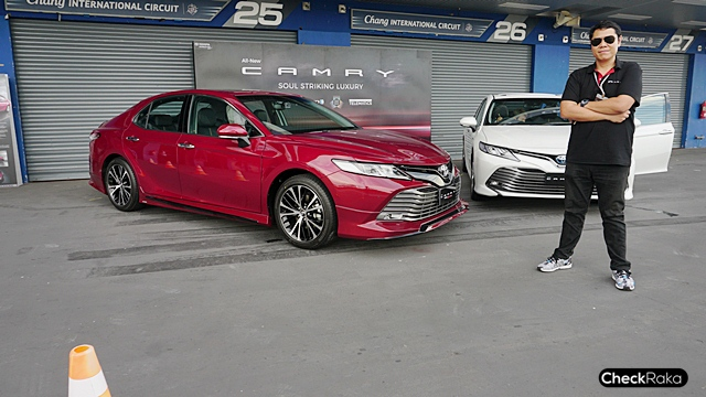 รีวิว ทดลองขับ All-new Toyota Camry ขับดีขึ้น แตกต่างอย่างชัดเจน