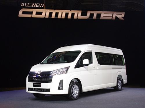 All new Toyota Commuter รถตู้ยอดนิยม