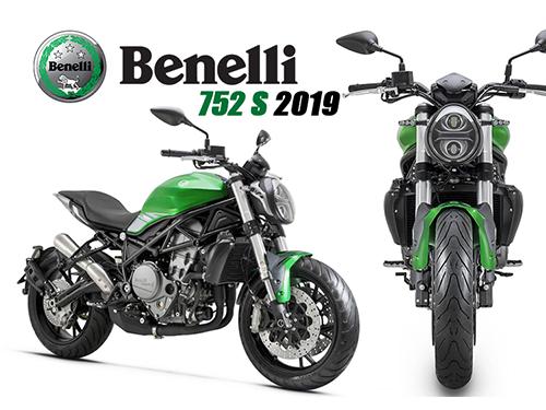 Benelli 752S 2019 เน็กเก็ตไบค์ตัวร้าย