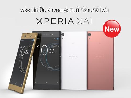 ซื้อ Sony Xperia XA1 ที่ร้านทีจี โฟน