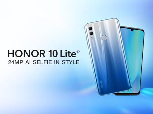ออเนอร์ เปิดตัวสมาร์ทโฟน Honor 10 Lite