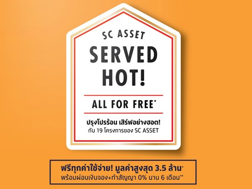 SC Asset ปรุงโปรร้อน เสิร์ฟอย่างฮอต!