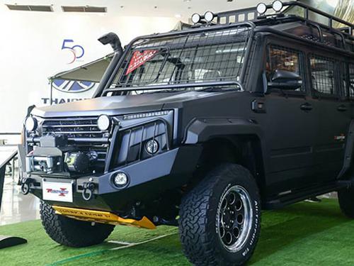 รถพันธุ์แกร่ง TR Transformer II 2.8 AT 4WD