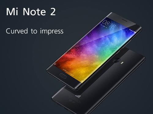 ใหม่! Xiaomi Mi Note 2