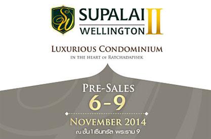 Pre-Sales - SUPALAI WELLINGTON II