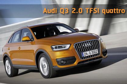 รีวิว Audi Q3 2.0 TFSI quattro
