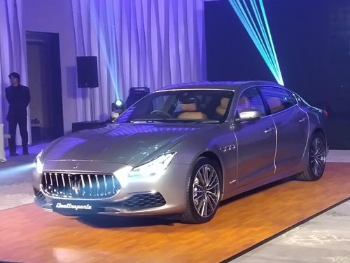 เปิดตัว Maserati Quattroporte 2019